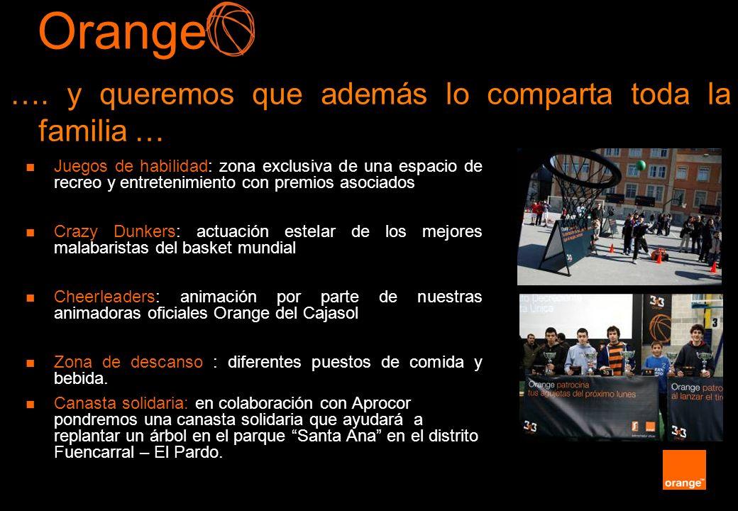 Orange …. y queremos que además lo comparta toda la familia …