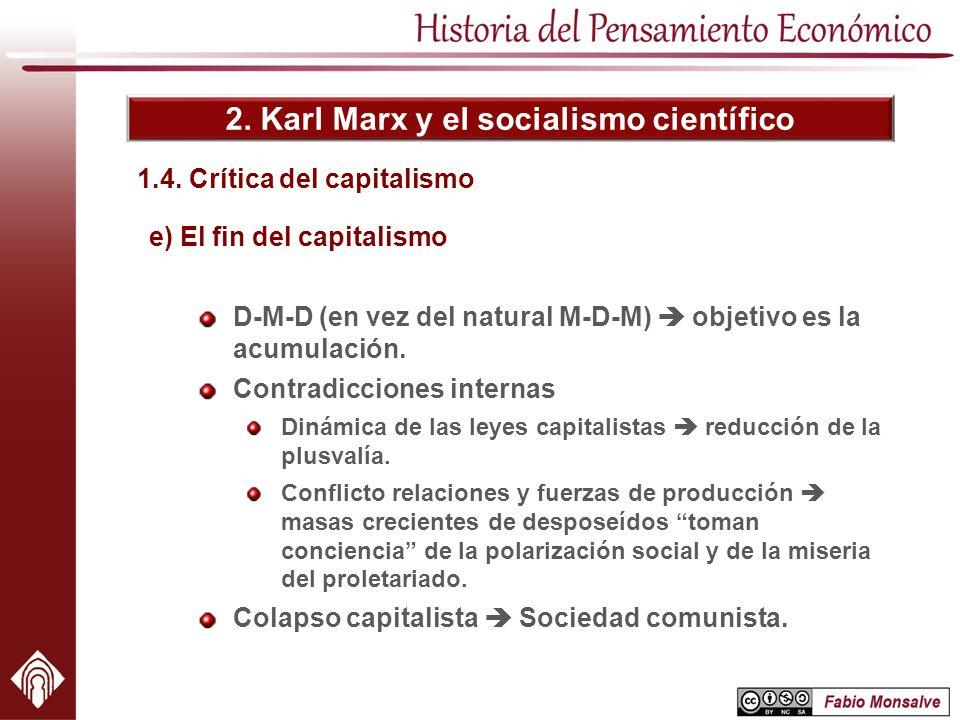 1.4. Crítica del capitalismo