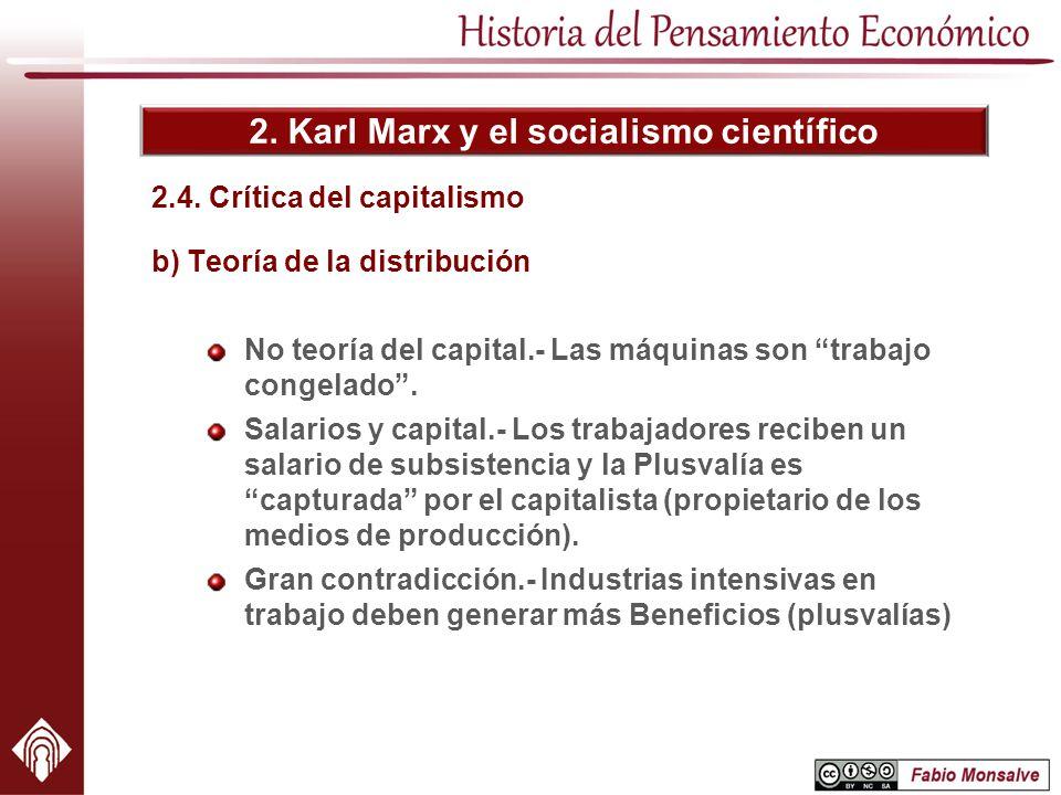 2.4. Crítica del capitalismo