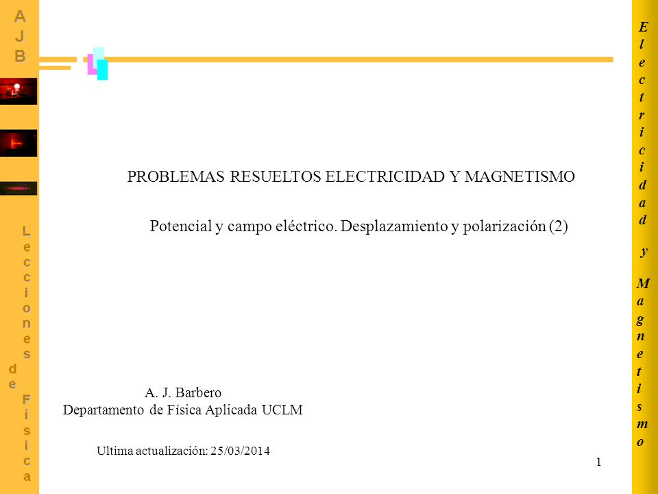 Departamento de Física Aplicada UCLM