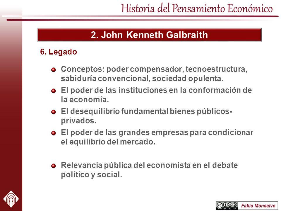 2. John Kenneth Galbraith