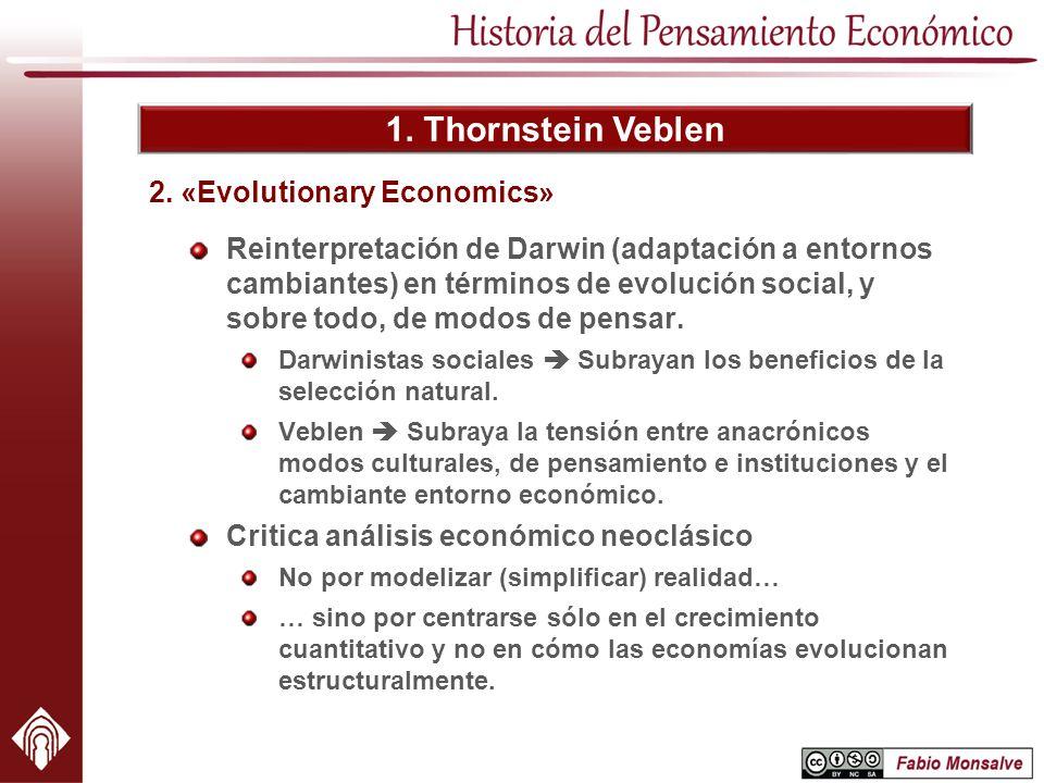 2. «Evolutionary Economics»