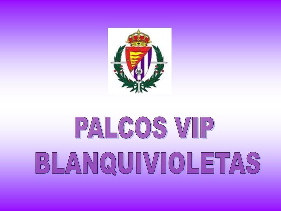 PALCOS VIP BLANQUIVIOLETAS