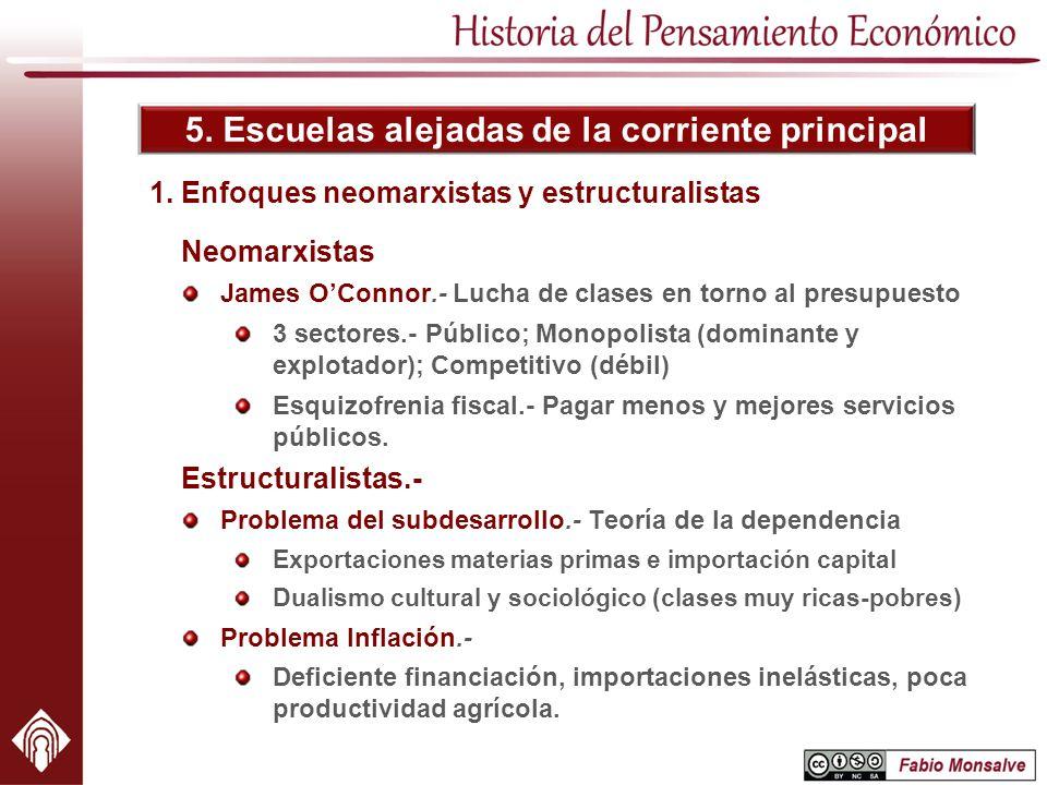 1. Enfoques neomarxistas y estructuralistas
