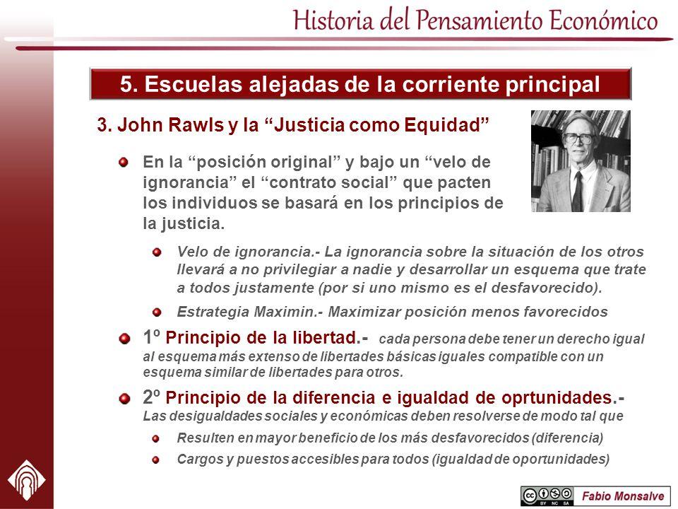 3. John Rawls y la Justicia como Equidad