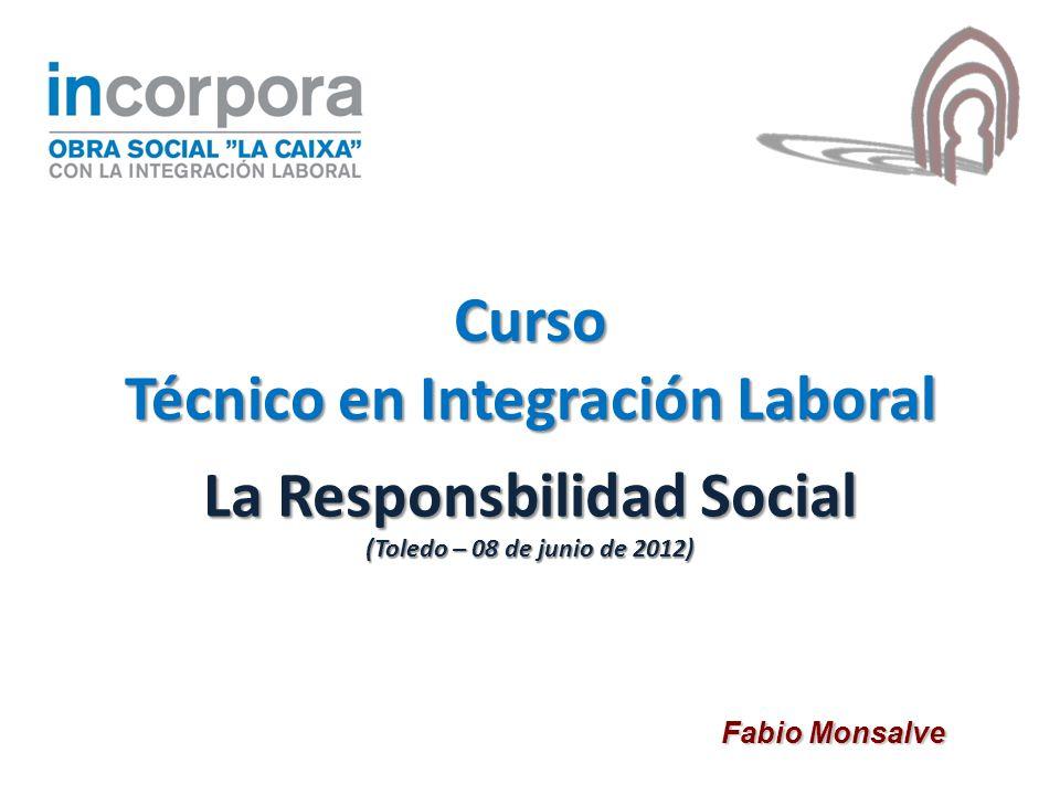 La Responsbilidad Social (Toledo – 08 de junio de 2012)