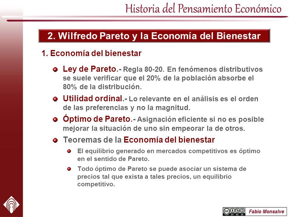 1. Economía del bienestar