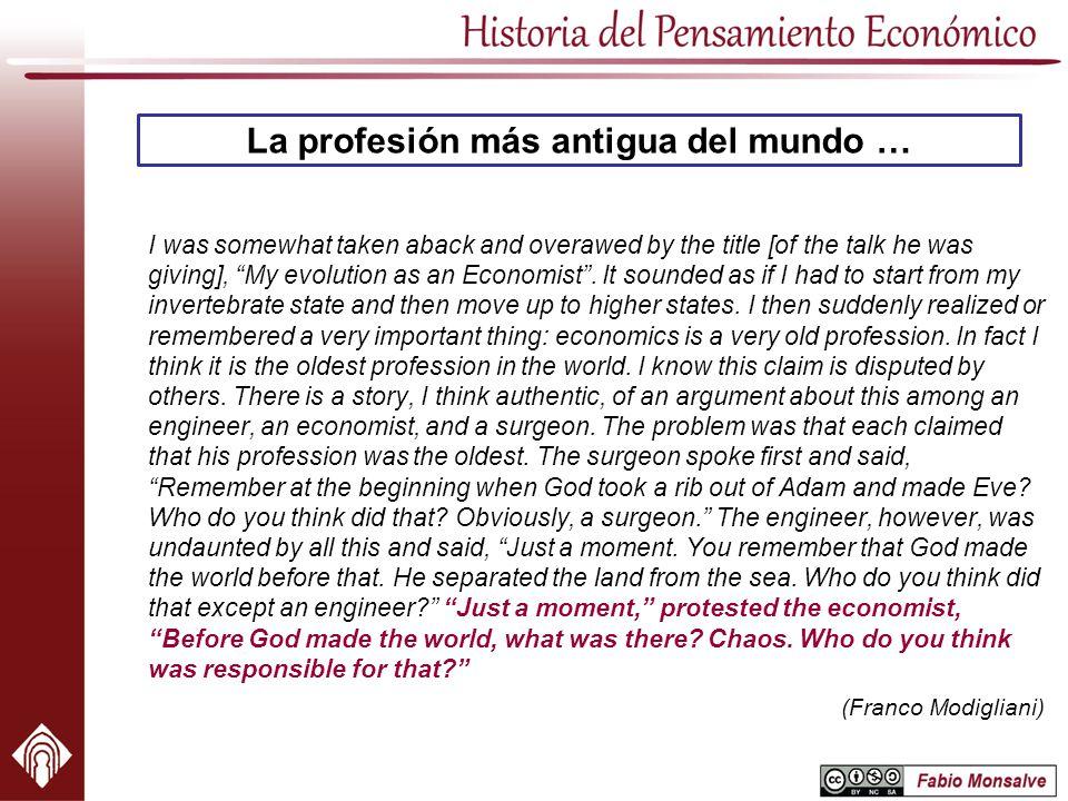 La profesión más antigua del mundo …