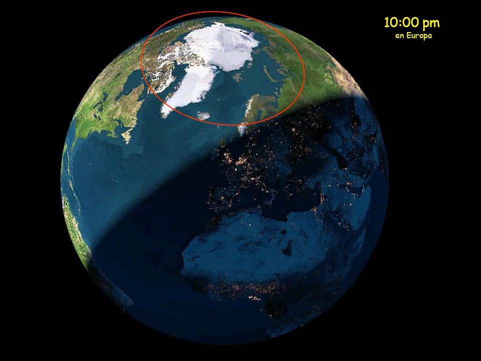 10:00 pm en Europa