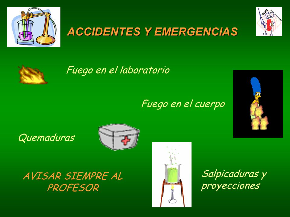 ACCIDENTES Y EMERGENCIAS