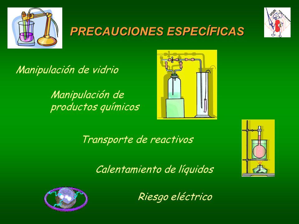 PRECAUCIONES ESPECÍFICAS
