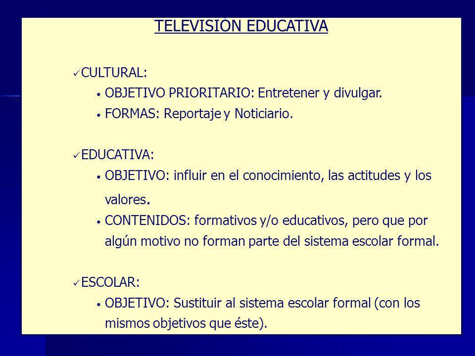 TELEVISIÓN EDUCATIVA CULTURAL: