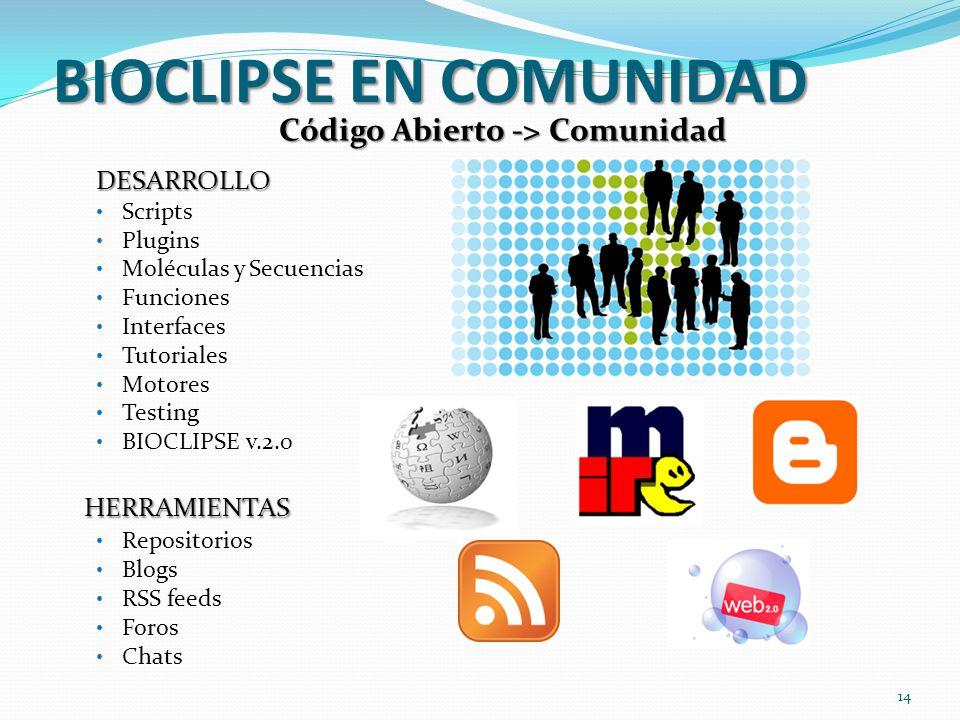 BIOCLIPSE EN COMUNIDAD