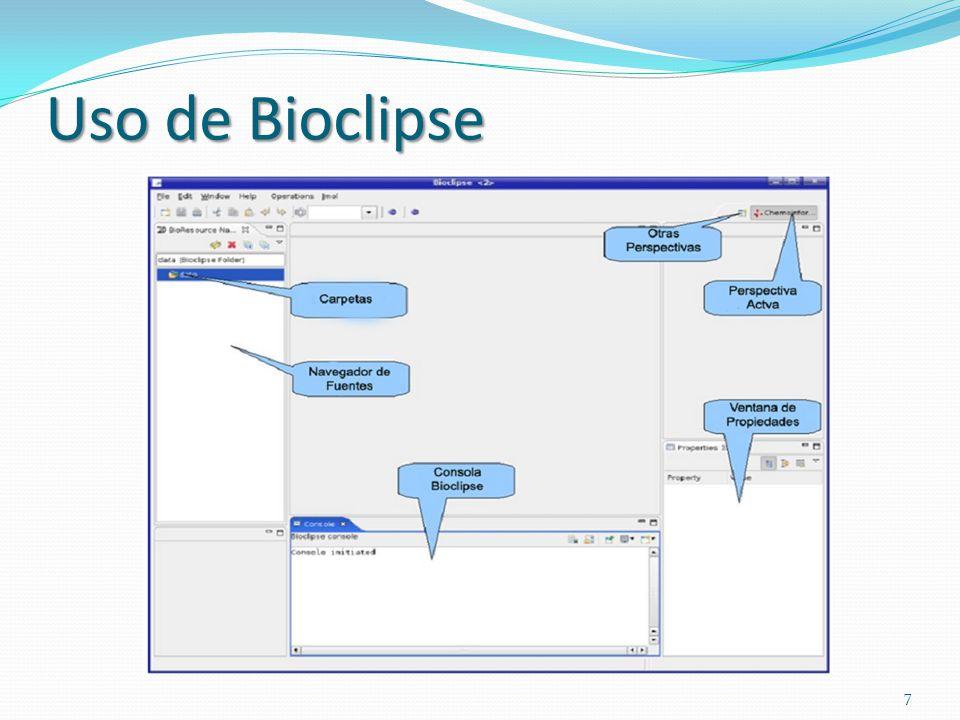 Uso de Bioclipse