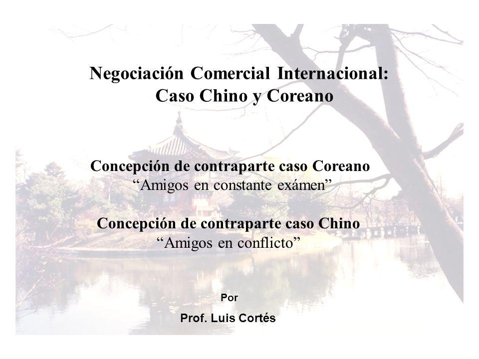Negociación Comercial Internacional: Caso Chino y Coreano
