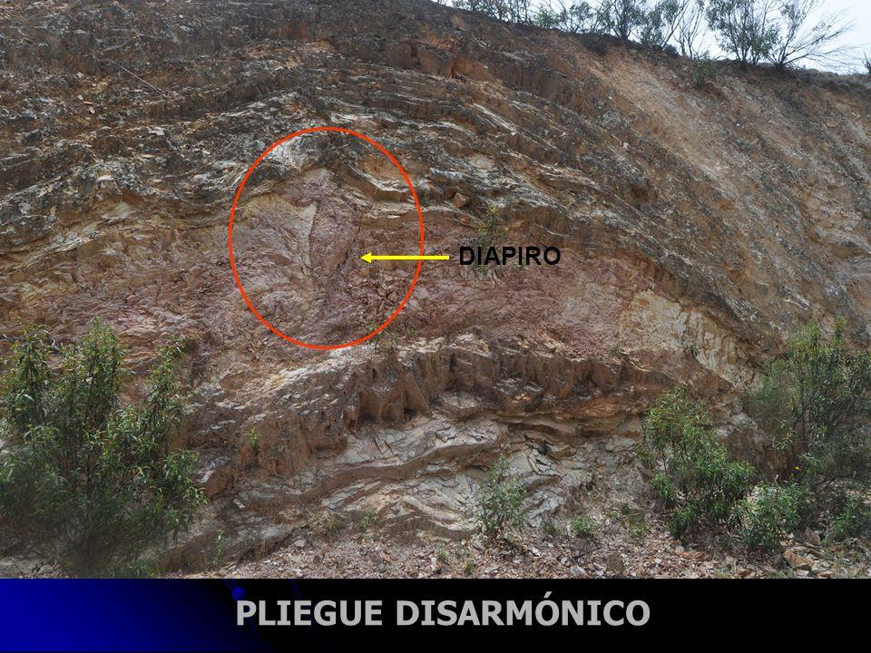 DIAPIRO PLIEGUE DISARMÓNICO