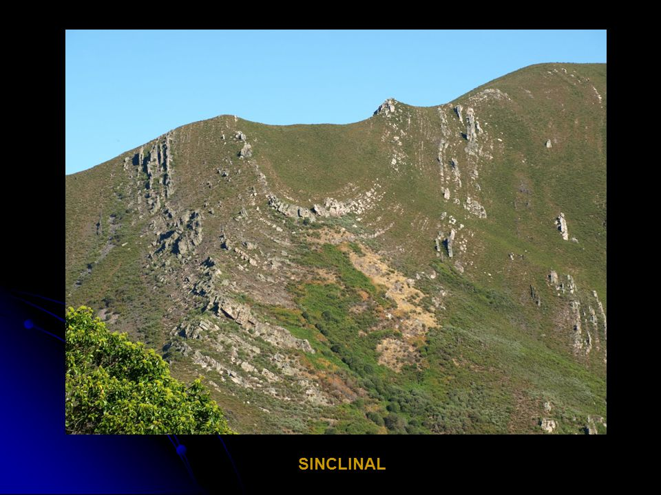 ANTICLINAL SINCLINAL