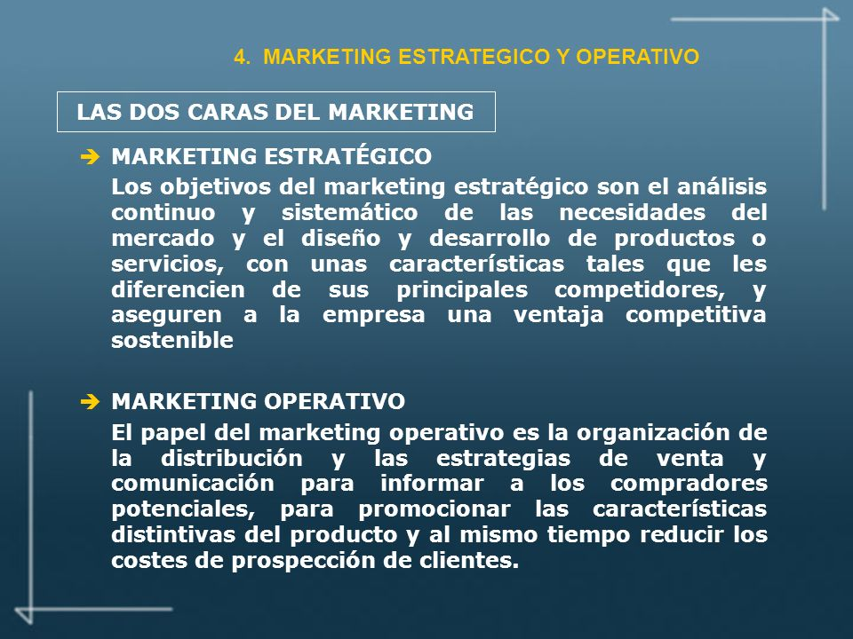 LAS DOS CARAS DEL MARKETING
