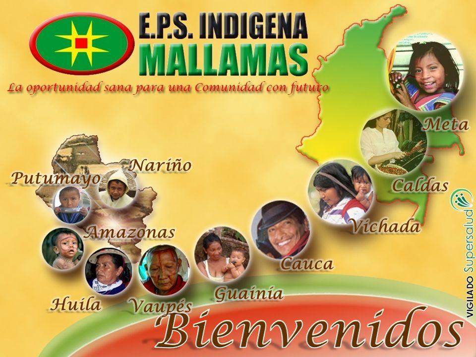 Bienvenidos Meta Nariño Putumayo Caldas Vichada Amazonas Cauca Guainía