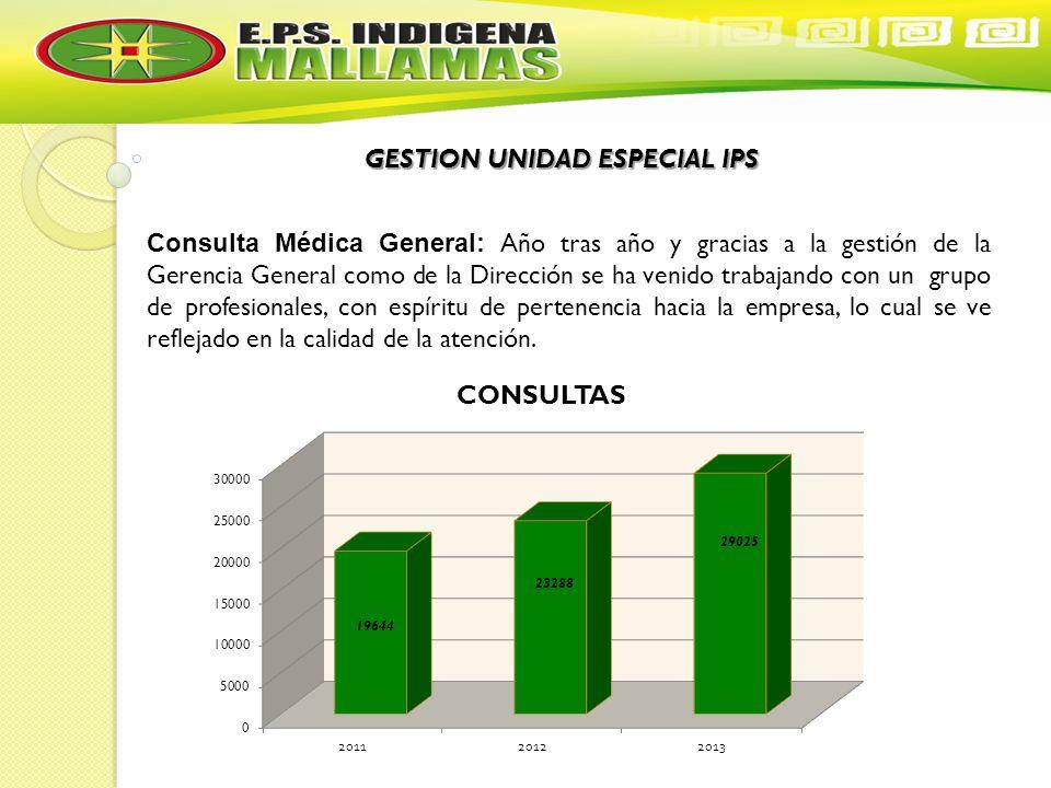 GESTION UNIDAD ESPECIAL IPS