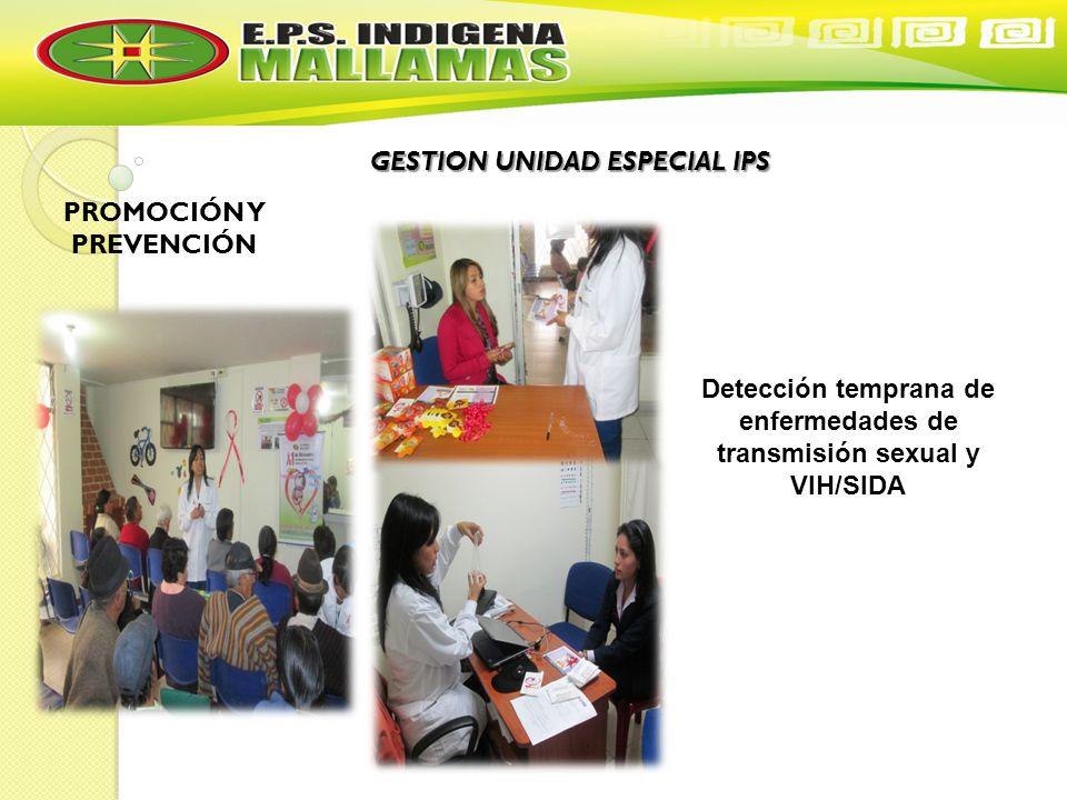 GESTION UNIDAD ESPECIAL IPS PROMOCIÓN Y PREVENCIÓN