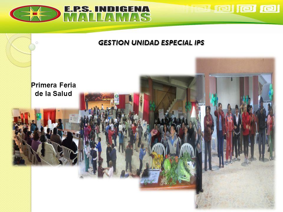 GESTION UNIDAD ESPECIAL IPS Primera Feria de la Salud