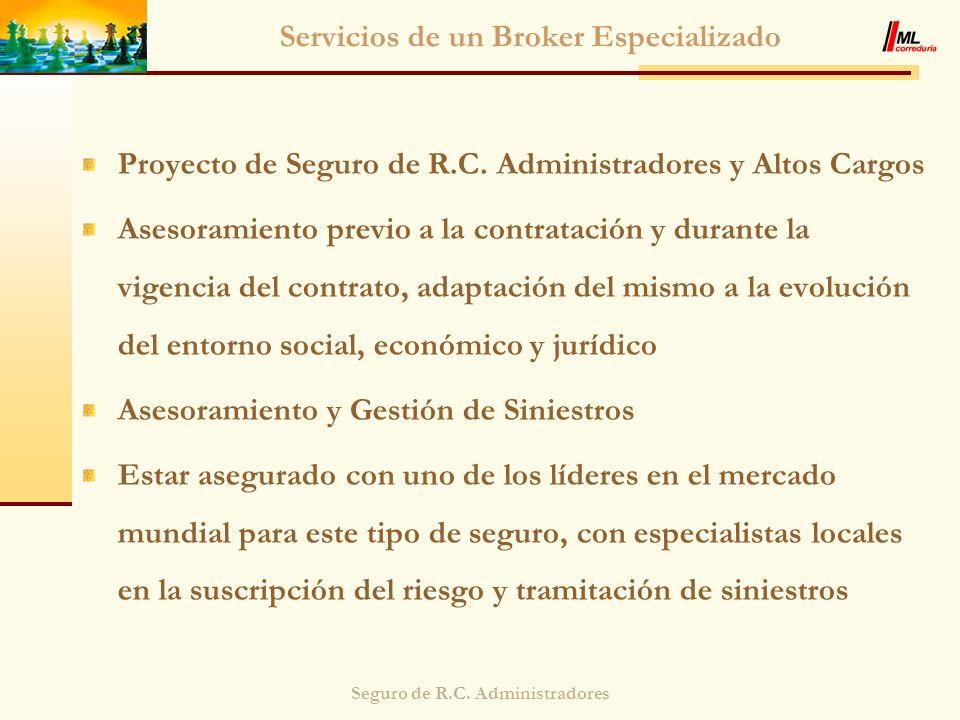 Servicios de un Broker Especializado