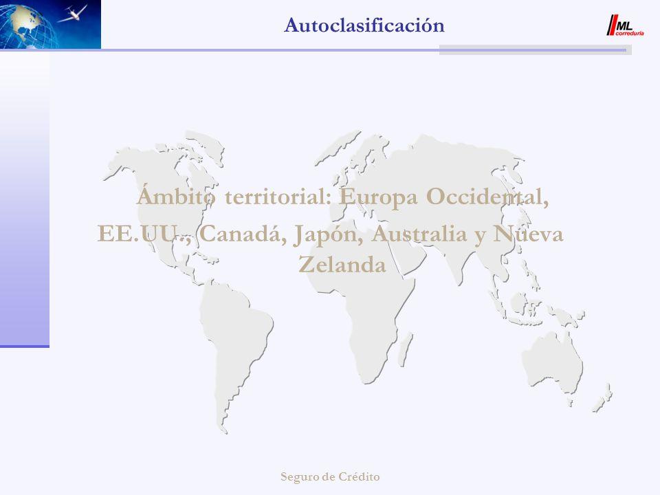 EE.UU., Canadá, Japón, Australia y Nueva Zelanda