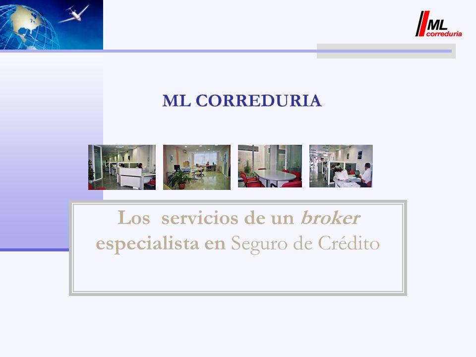 Los servicios de un broker especialista en Seguro de Crédito