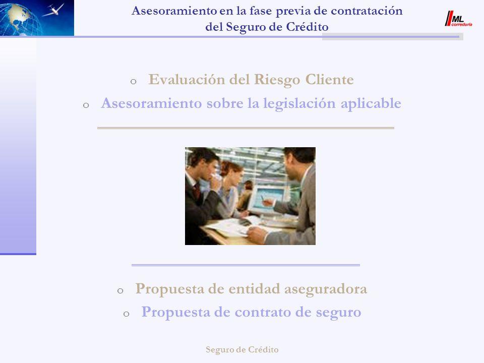 Asesoramiento en la fase previa de contratación del Seguro de Crédito