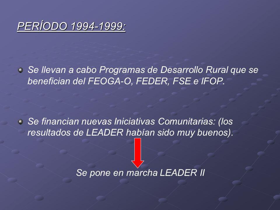 Se pone en marcha LEADER II