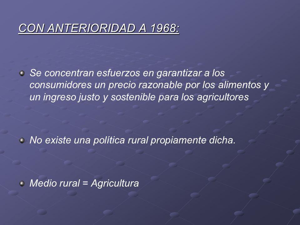CON ANTERIORIDAD A 1968: