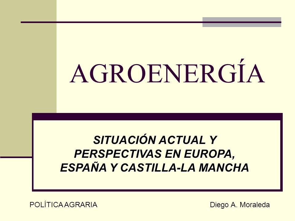 SITUACIÓN ACTUAL Y PERSPECTIVAS EN EUROPA, ESPAÑA Y CASTILLA-LA MANCHA