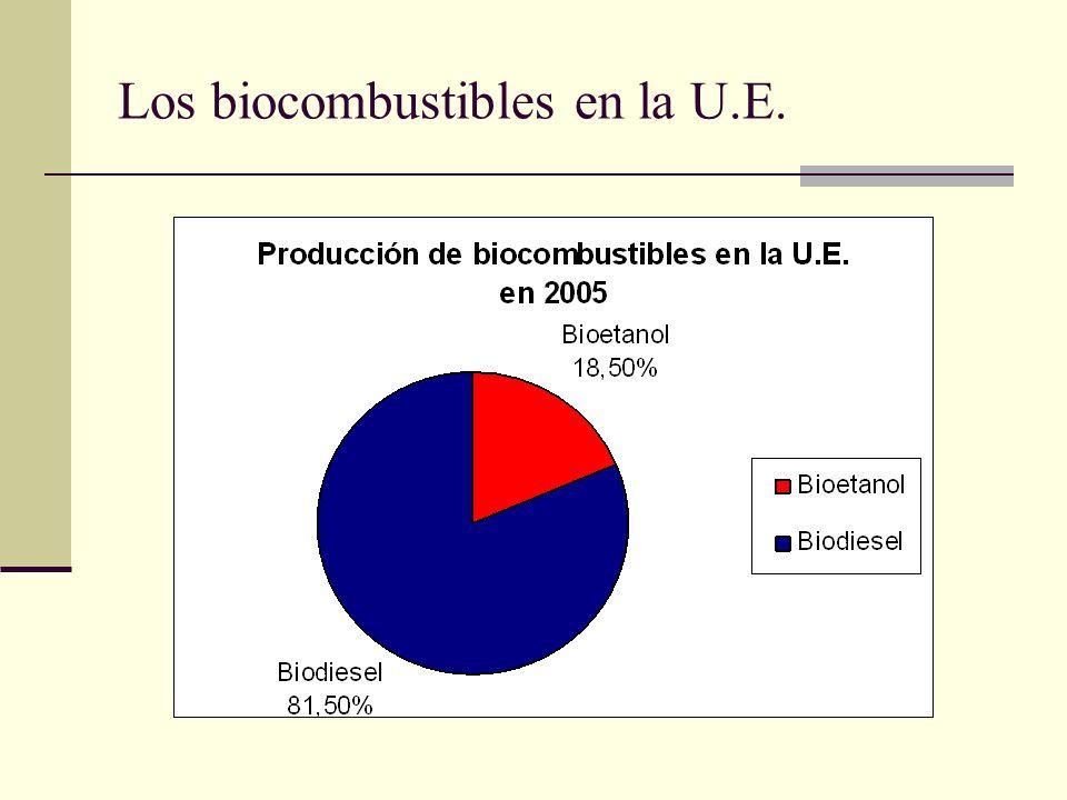 Los biocombustibles en la U.E.