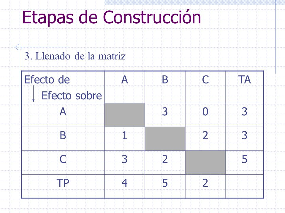 Etapas de Construcción