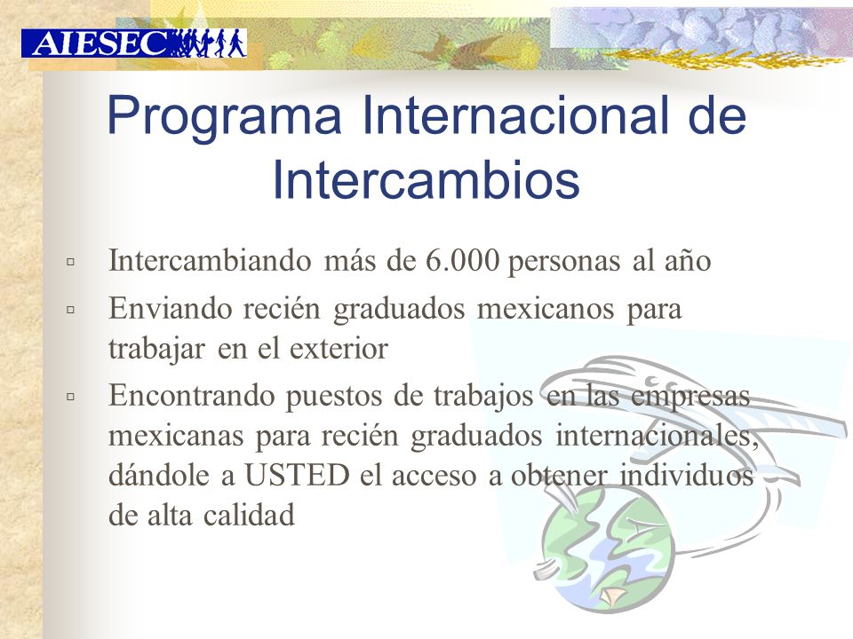 Programa Internacional de Intercambios