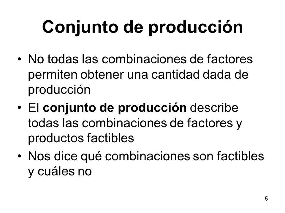 Conjunto de producción