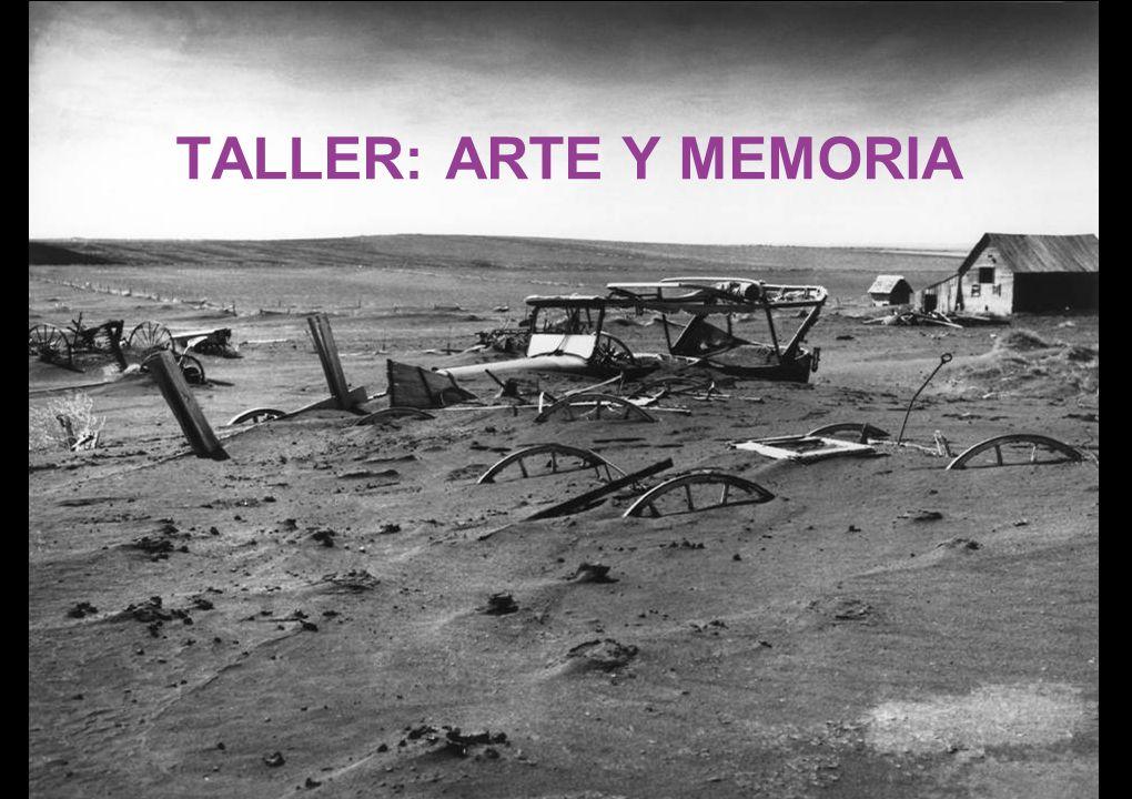 TALLER: ARTE Y MEMORIA