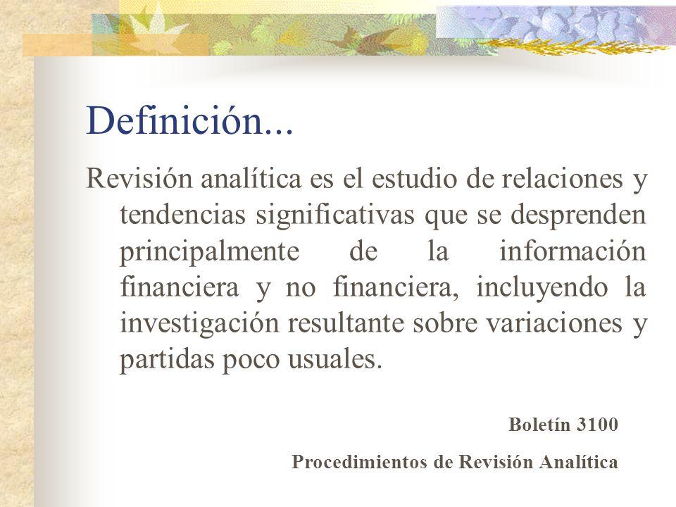 Definición...