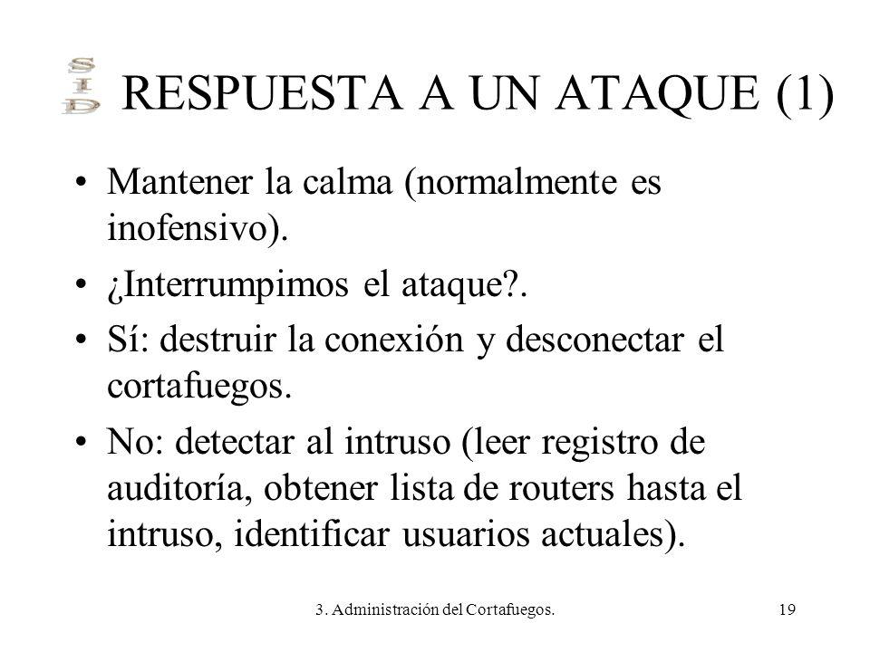 RESPUESTA A UN ATAQUE (1)