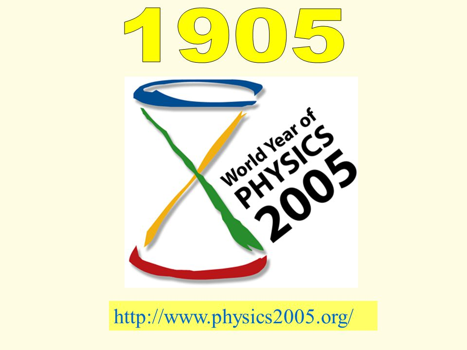 1905 http://www.physics2005.org/