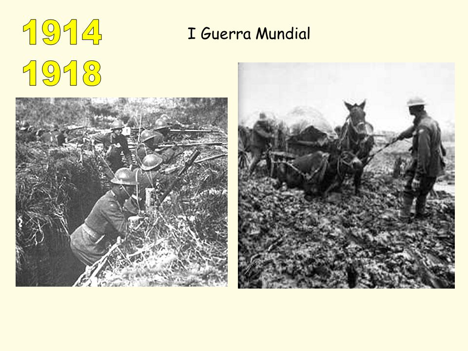 1914 1918 I Guerra Mundial