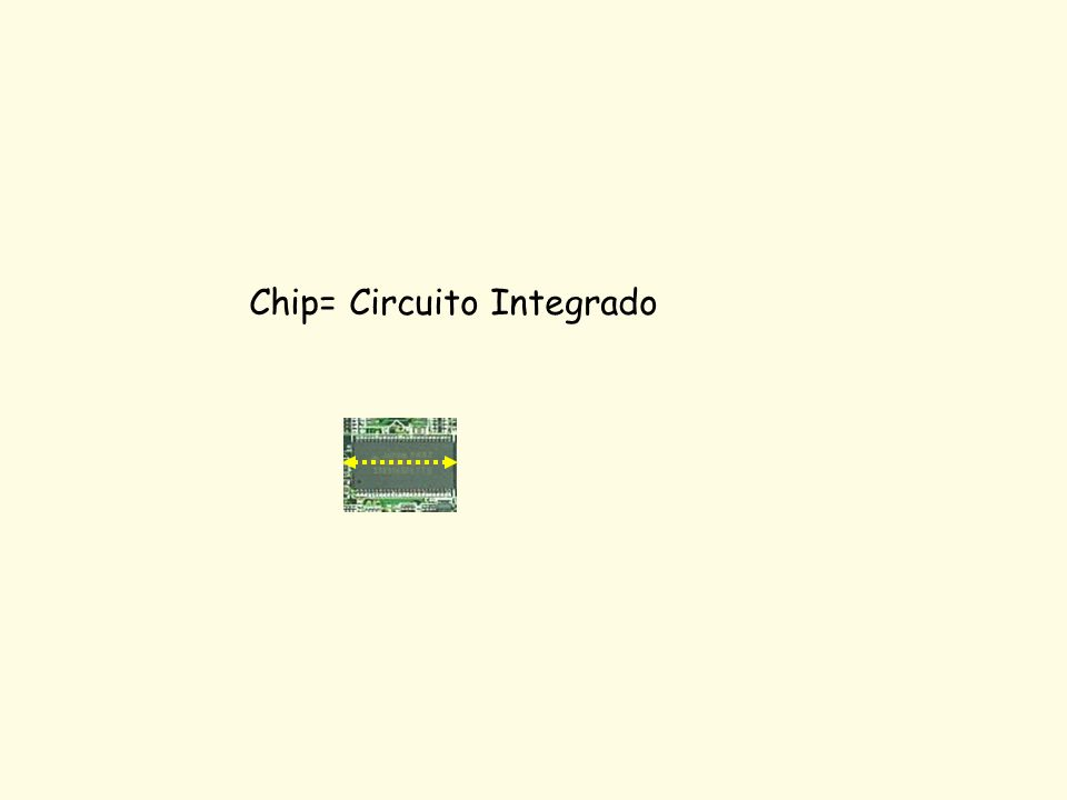 Chip= Circuito Integrado