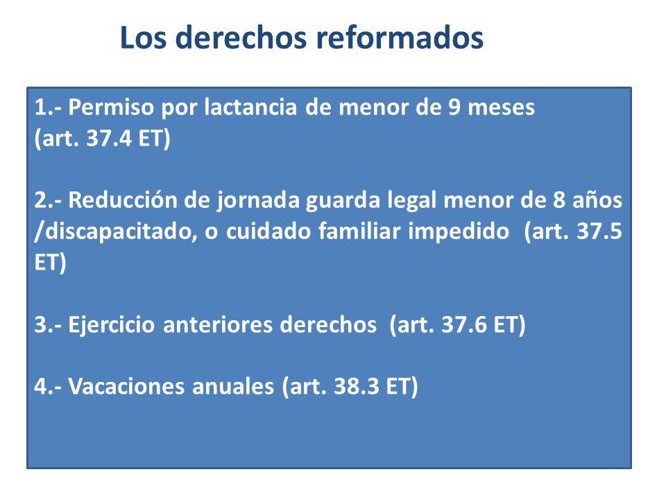 Los derechos reformados