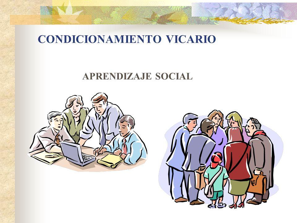 CONDICIONAMIENTO VICARIO