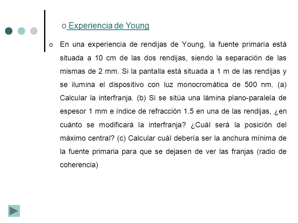 Experiencia de Young