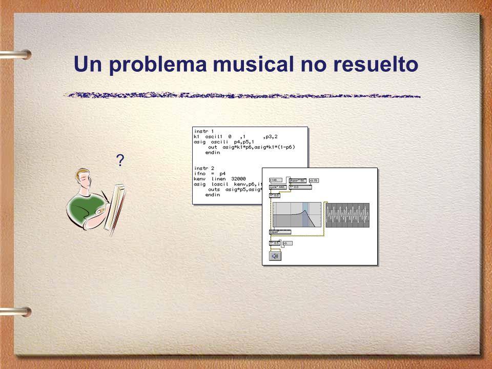 Un problema musical no resuelto