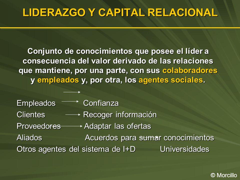 LIDERAZGO Y CAPITAL RELACIONAL