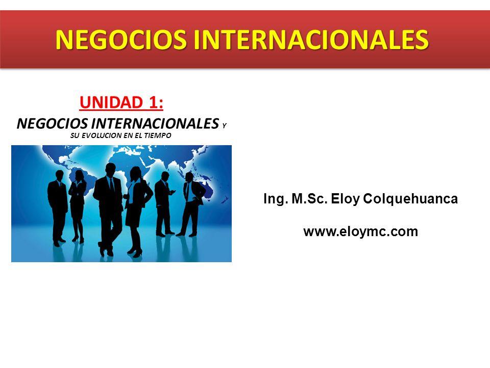 Ing. M.Sc. Eloy Colquehuanca