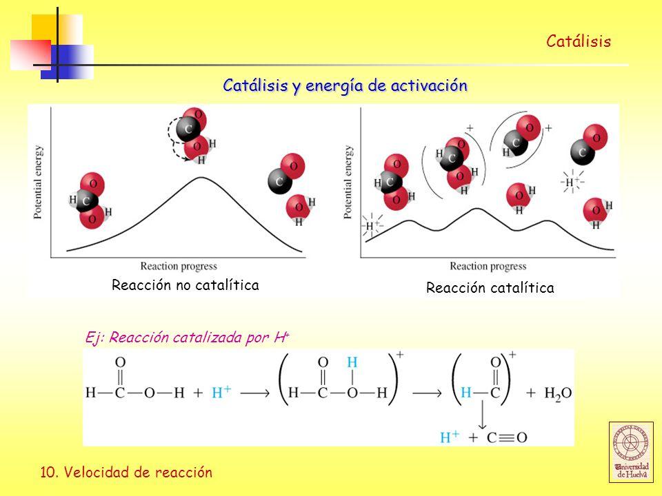 Catálisis y energía de activación